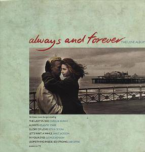 Always And Forever - The Love Album - Cover