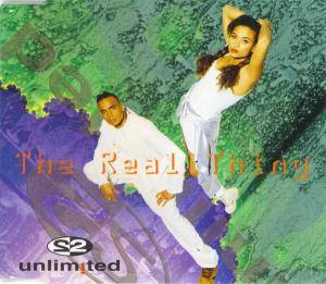 2 Unlimited: Real Thing, The - Cover