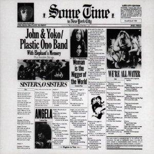 John & Yoko / Plastic Ono Band: Some Time In New York City - Cover