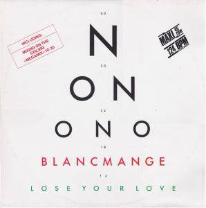 Blancmange: Lose Your Love - Cover