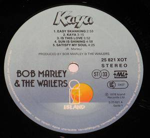 Bob Marley & The Wailers: Kaya (LP) - Bild 2