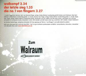 Die Toten Hosen: Walkampf (Single-CD) - Bild 2