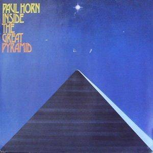 Paul Horn: Inside The Great Pyramid - Cover