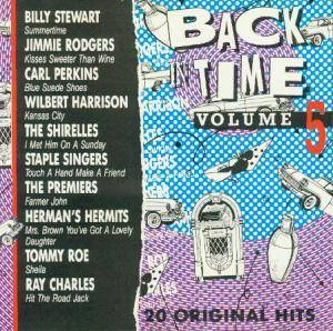 Cover - Jerry Butler & The Impressions: Back In Time Vol. 05