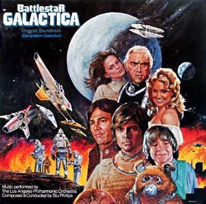 Stu Phillips: Battlestar Galactica - Cover