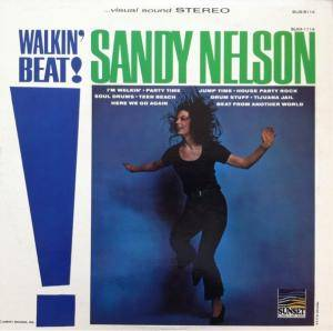 Cover - Sandy Nelson: Walkin' Beat!