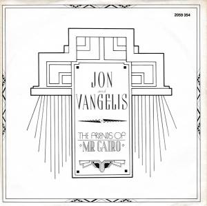 Cover - Jon & Vangelis: Friends Of Mr. Cairo, The