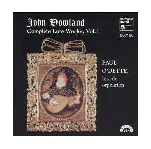 Cover - John Dowland: Complete Lute Works, Vol. 1