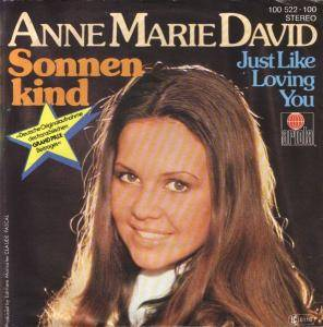 Cover - Anne-Marie David: Sonnenkind