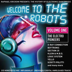 Cover - Massimo Barsotti DJ: Welcome To The Robots - Volume 1 - The Electro Pioneers