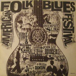 Original American Folk Blues Festival, The - Cover