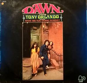 Cover - Tony Orlando & Dawn: Dawn Featuring Tony Orlando