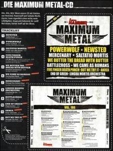 Metal Hammer - Maximum Metal Vol. 186 (CD) - Bild 10