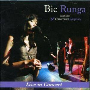 Cover - Bic Runga: Live In Concert