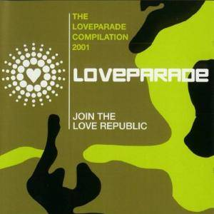 Cover - Woody: Loveparade Compilation 2001, The