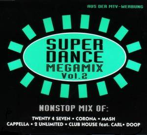 Cover - Mash!: Super Dance Megamix Vol. 2