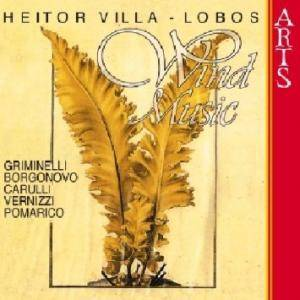 Cover - Heitor Villa-Lobos: Windmusic