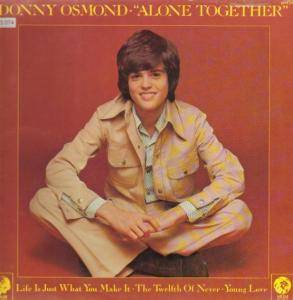 Donny Osmond: Alone Together - Cover