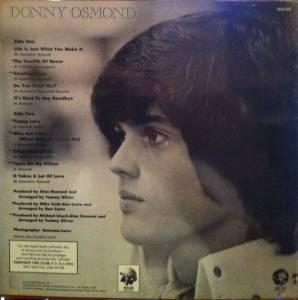 Donny Osmond: Alone Together (LP) - Bild 2