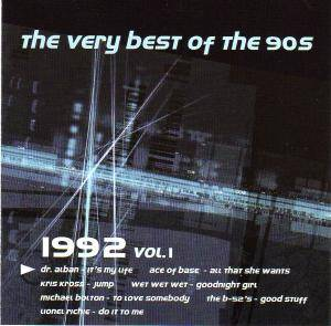Very Best Of The 90s - 1992 - Vol. 1, The - Cover