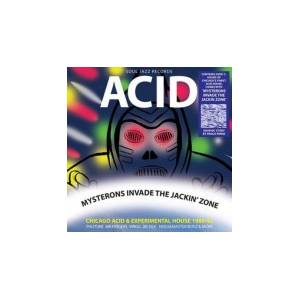 Cover - Adonis: Acid: Mysterons Invade The Jackin' Zone Vol 2. (Record B)