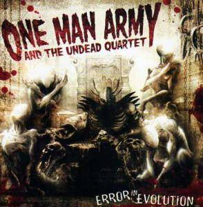 Cover - One Man Army And The Undead Quartet: Error In Evolution