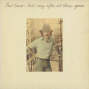 Paul Simon: Still Crazy After All These Years - Cover