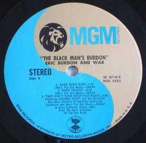 Eric Burdon & War: The Black-Man's Burdon. (2-LP) - Bild 7
