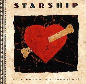 Starship: Love Among The Cannibals - Cover