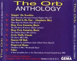 The Orb Anthology Cd 1993 Bootleg
