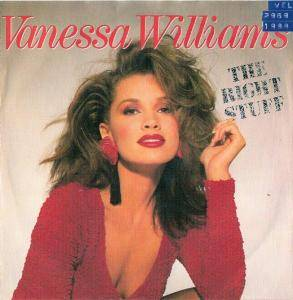 Vanessa Williams: Right Stuff, The - Cover