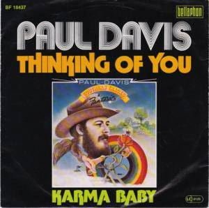 Cover - Paul Davis: Thinking Of You
