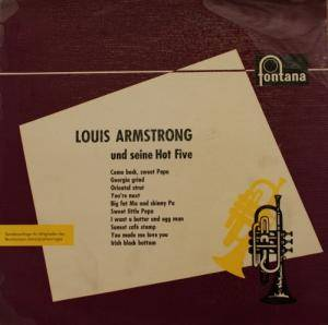 Cover - Louis Armstrong & His Hot Five: Louis Armstrong Und Seine Hot Five