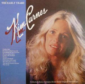 Cover - Kim Carnes: Early Years, The