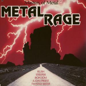 Metal Rage - Mastes Of Metal - Cover