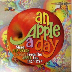 Cover - Turquoise: Apple A Day - More Pop-Psych Sounds From The Apple Era 1967-1969, An