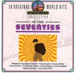 Cover - Stephen Bishop: 16 Original World Hits Of The Seventies - Golden Gate Collection