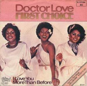 Cover - First Choice: Doctor Love