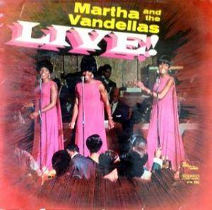 Cover - Martha And The Vandellas: Live!
