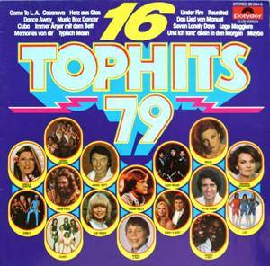 16 Tophits '79 - Cover