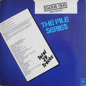 Status Quo: File Series, The - Cover