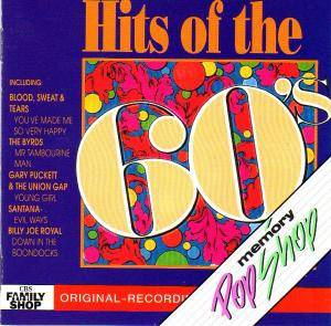 Hits Of The 60's - Cover