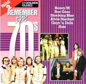 Remember The 70's - Volume 2 - Cover