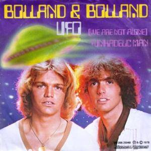 Cover - Bolland & Bolland: Ufo (We Are Not Alone)