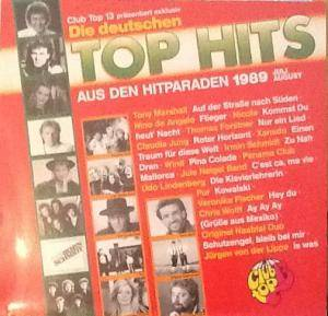 Club Top 13 - Die Deutschen Top Hits - Juli/August 1989 - Cover