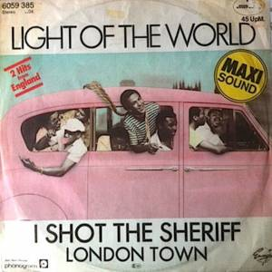 Cover - Light Of The World: I Shot The Sheriff