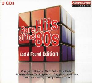 Cover - F.R. David: Rare Hits Of The 80s - Lost & Found Edition