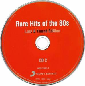 Rare Hits Of The 80s - Lost & Found Edition - 3-CD (2013, Digipak)