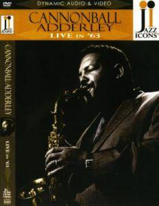 Cover - Cannonball Adderley: Live In '63