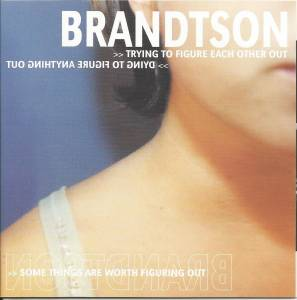 Brandtson: Trying To Figure Each Other Out - Cover